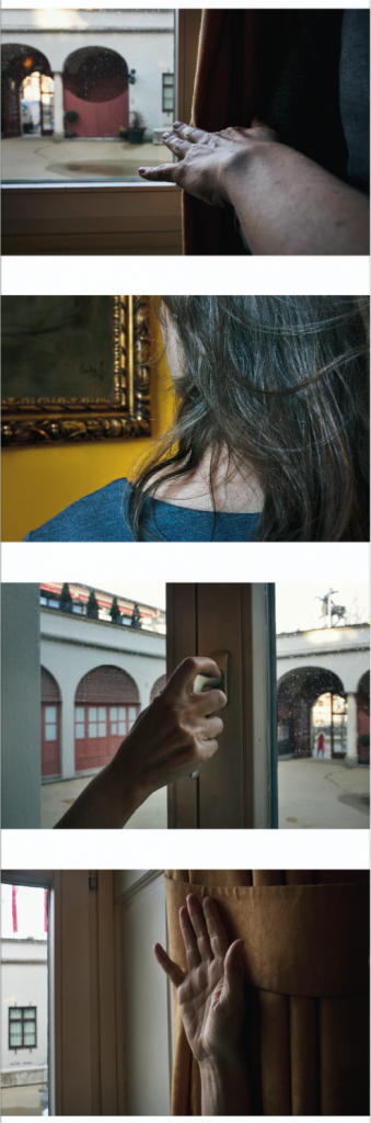 """""""Innenraum Außenraum Lenbachplatz Band 1"""", 2018, 146 x 45 cm, Pigmentdruck auf archivfestem Papier, Auflage 5, 2AP"""