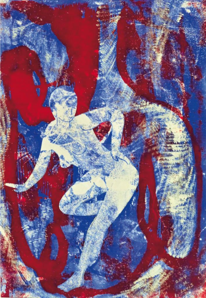 """Anmutig"", 2004, 50 x 40 cm, Glasdruck"